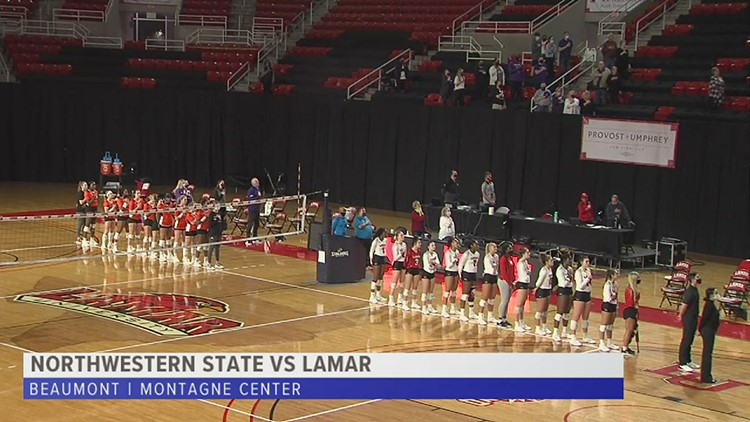 Lamar sweeps Northwestern State, Lay gets first-career win