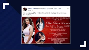Funeral services set for woman fatally shot on Valentine's Day in Beaumont