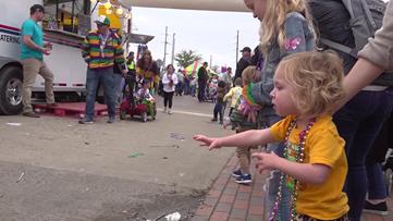Mardi Gras Munchkin Parade takes Beaumont