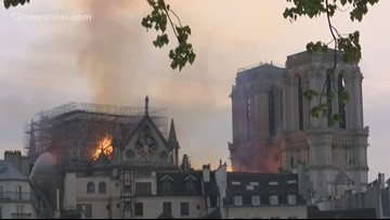 Catholics in Southeast Texas react to Notre Dame Cathedral fire