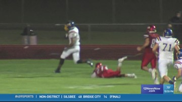 WEEK 4: Evadale High School's Will Farr makes the 409Sports Play of the Week