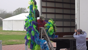 Preparation underway days ahead of Beaumont's Mardi Gras Southeast Texas
