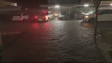 12NewsNow: Flooding at Settler's Cove Apartments