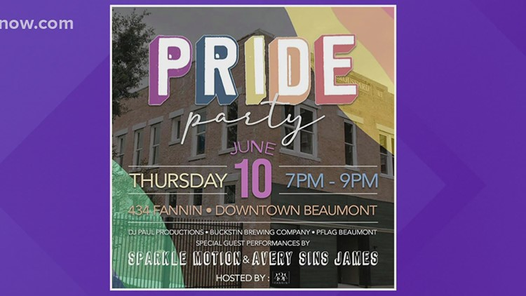 Southeast Texans kick off Pride Month at 2021 Pride Party in downtown Beaumont
