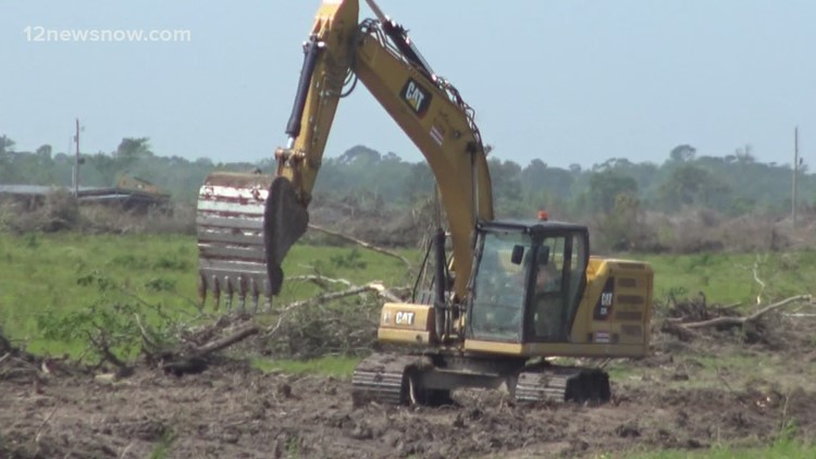 Land cleared ahead of possible Chevron Phillips expansion in Orange County