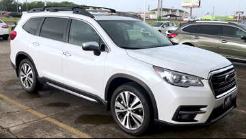 Check out the 2019 Subaru Ascent we're taking for a test drive