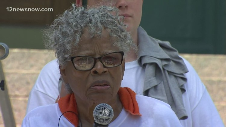 94-year-old activist led symbolic 2.5-mile Juneteenth march