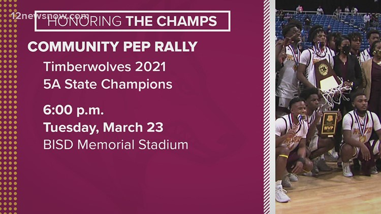 Honoring the Champs: Community pep rally set for Beaumont United after winning 5A state title game