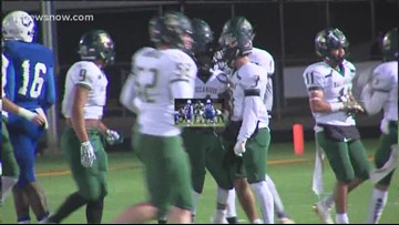 3A Bi-District Football: East Chambers 82 Crockett 54