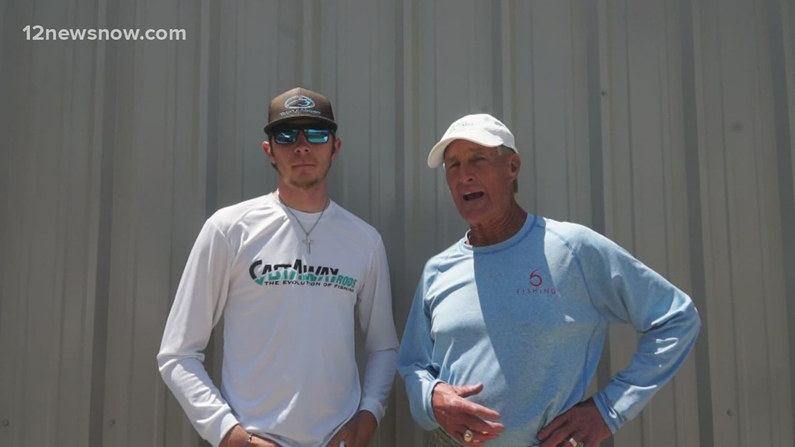Local fishing guide Wyatt Frankens joins JD Batten for this week's 12News Outdoors Report