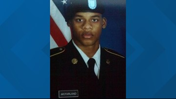 Funeral procession in Woodville for Jasper native, US Army specialist