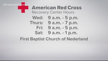 American Red Cross opens for a limited time following TPC Group fires