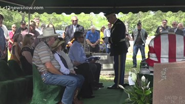 100-year-old WWII veteran honored at funeral by family, friends and strangers