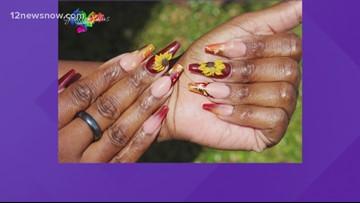 Fall Makeup and Nail Designs
