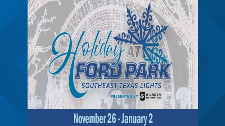 Dazzling, family-friendly attraction coming to Ford Park this holiday season