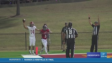 North Shore High School makes the week 9 Play of the Week