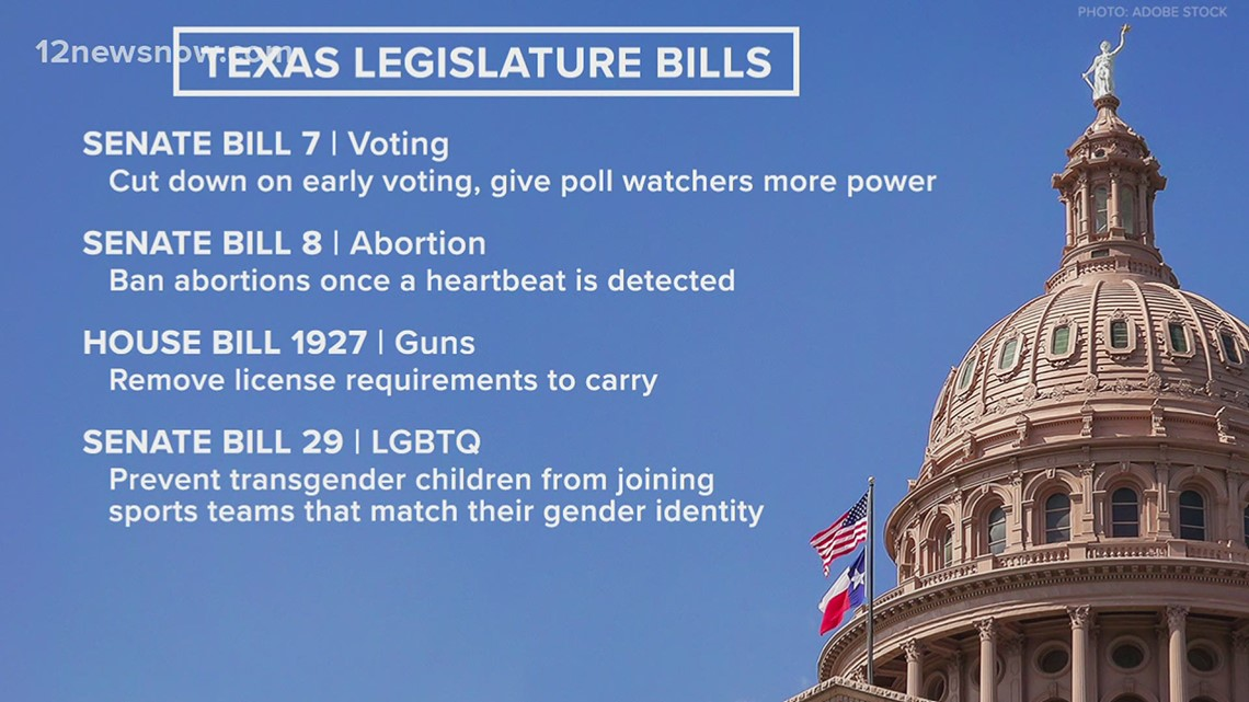 87th Texas Legislature generating lots of debate, pushback on hot topic bills