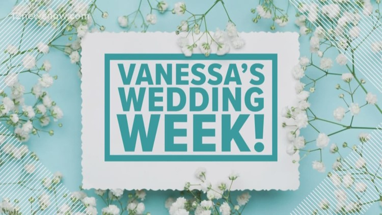 Vanessa's Wedding Week continues. In this segment we are stopping and smelling the roses.