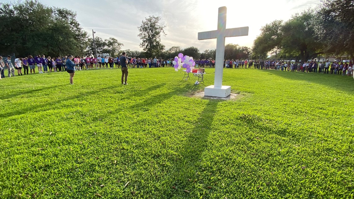 Prayer vigil held for Port Neches-Groves teen who suffered serious brain injury during JV football game