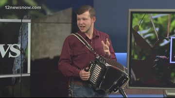 Accordion workshop at Museum of the Gulf Coast open to the public