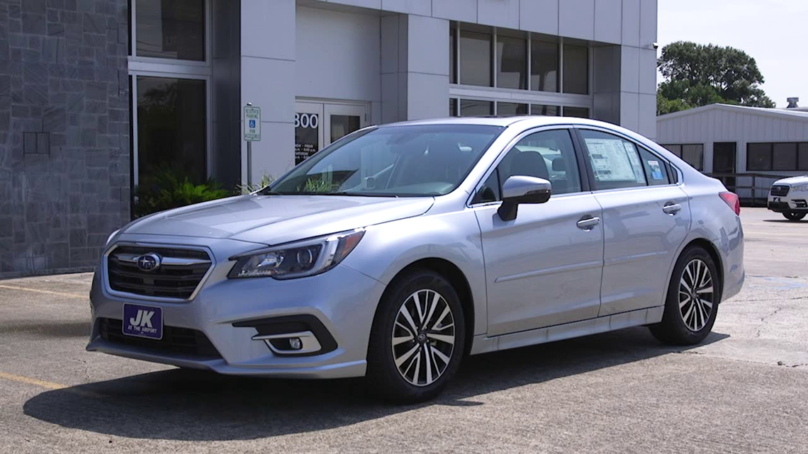 Take a test drive in the 2019 Subaru Legacy Premium