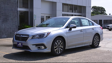 We're taking a test drive in the 2019 Subaru Legacy Premium