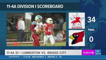 WEEK 9: Lumberton High School shuts out Bridge City 34 - 0 in the 409Sports Game of the Week