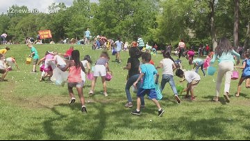 Beaumont's First Baptist Church Hosts 10th Annual Easter Egg Hunt