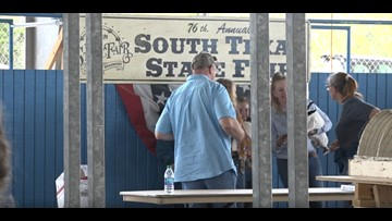Hundreds of people participate in livestock show at YMBL South Texas State Fair