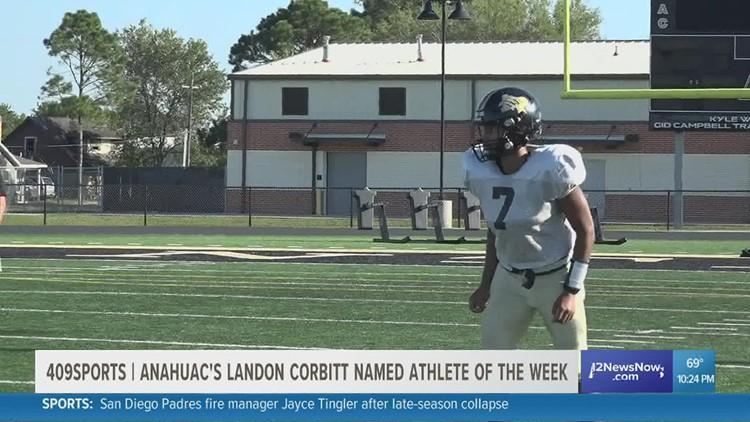 Anahuac's Landon Corbitt is the 409Sports Athlete of The Week!