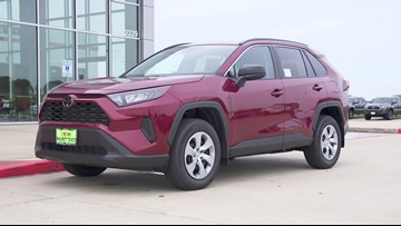We drove a 2019 Toyota Rav 4 LE today for 12News Test Drive