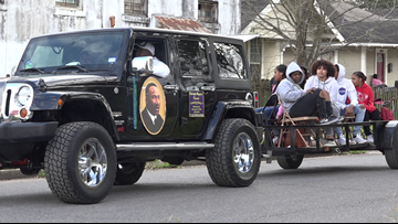 Hundreds celebrate 2020 annual Martin Luther King Jr. parade in Beaumont