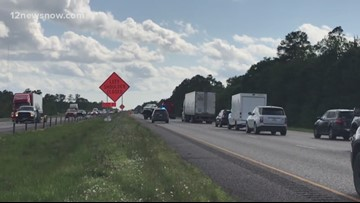 I-10 westbound lanes back open after pile up near Taylor's Bayou