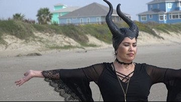 Dancing 'witches' celebrate life every Halloween on Crystal Beach