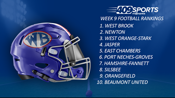 409Sports Football Rankings: Week 9