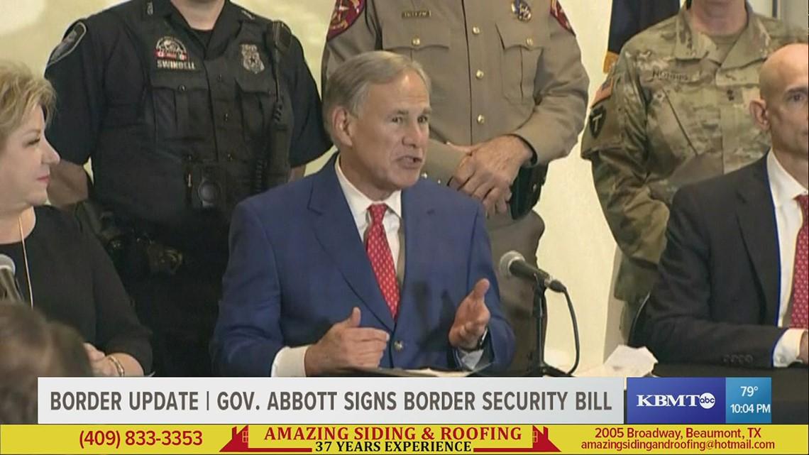 13,000 migrants under Del Rio Bridge, Gov. Abbott to sign border security bill