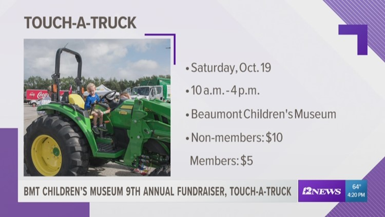 Beaumont Children's Museum Touch-a-Truck