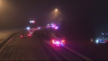 Police chase spans three counties