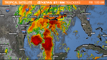 Tropical Storm Olga forms in Gulf of Mexico