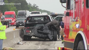 Houston man killed in fiery Orange County wreck identified, Port Arthur man seriously injured