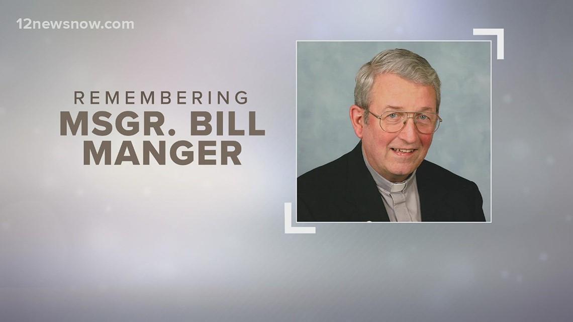 Beloved Beaumont priest Msgr. Bill Manger dies at 87