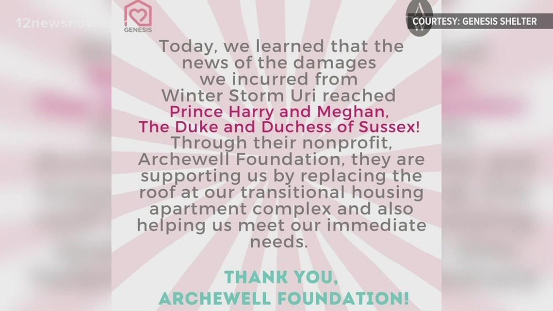 Prince Harry and Meghan Markle help Dallas Women's Shelter