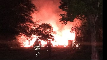No loss of life, house a total loss after Little Cypress fire