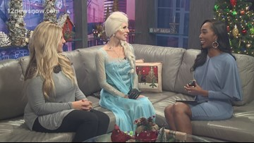 Gowns on the Town hosts pajama party featuring Disney princesses