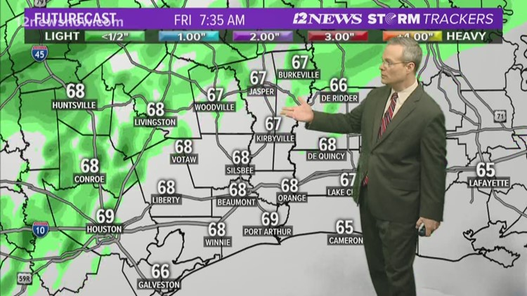 12News monitoring threat of severe weather for weekend ahead