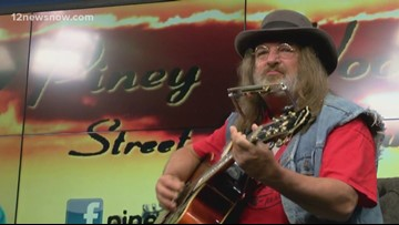 MORNING MIXTAPE: Paul 'The Piney Woods Street Musician' Pulliam performs