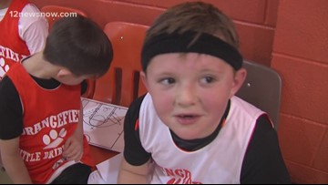 Orangefield Little Dribblers talk about things referees say