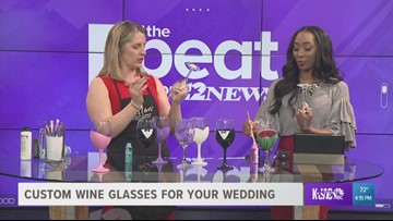 DIY Wedding Wine Glasses