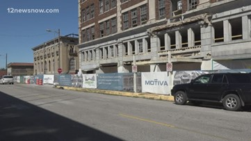 Motiva's downtown Port Arthur project to cause road closures