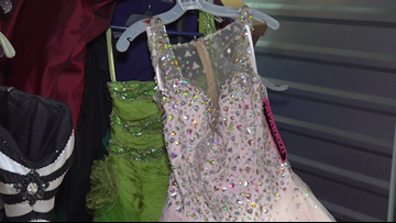 CPS collecting prom dresses for foster kids after Imelda destroys stored dresses, shoes